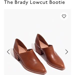 The brand new Brady Lowcut Bootie from Madewell